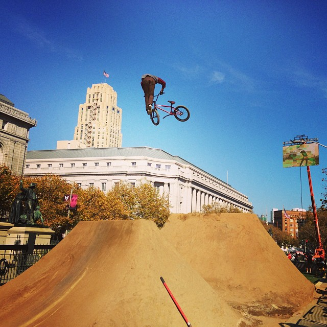 @dennisenarson with a huge whip #respect