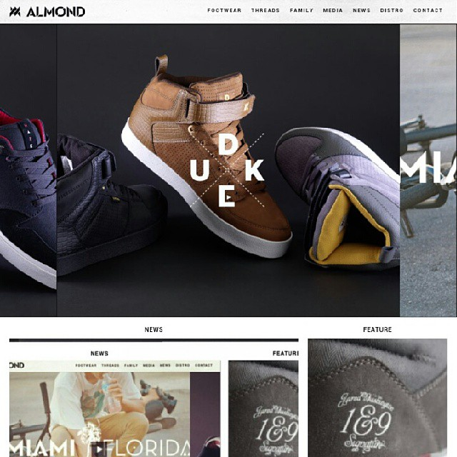 @almond_footwear just updated their website with all their new product. Check it out at www.almondfootwear.com im proud to be a part of this company since day 1.