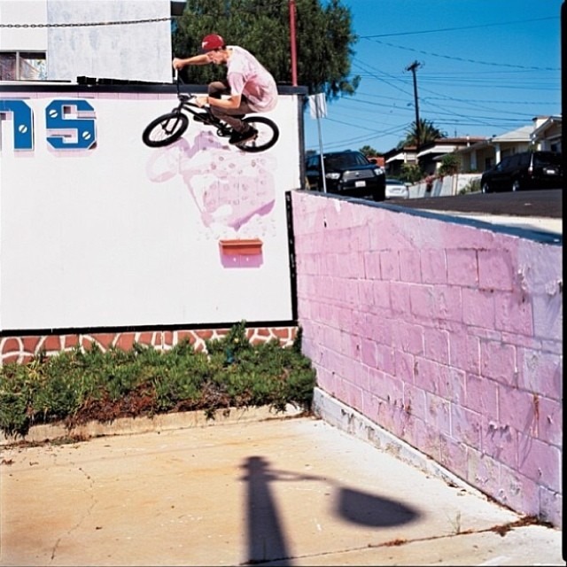 @bsdbg big one for @ridebmx shot by #jeffzphoto