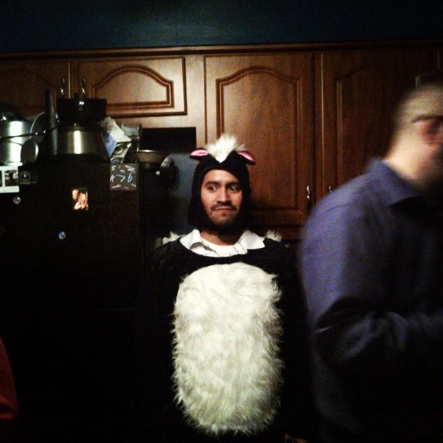 Dave was a skunk #smellyperuvian