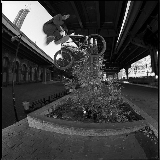 I miss riding the Brooklyn banks, how long has it been already 3 yrs??  by @ridebmx