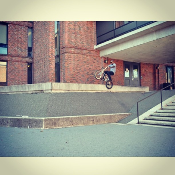 Icepick grind back when it was a lot warmer..