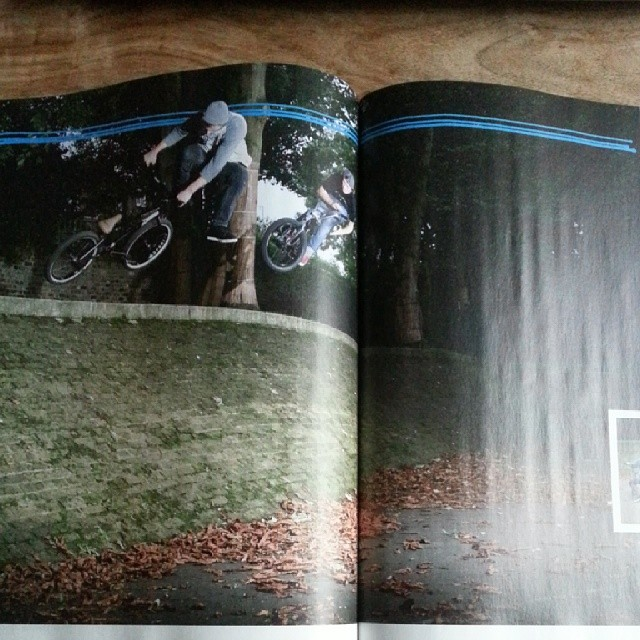 Photo in this month's @rideukbmx with my buddy @samcunningham95
