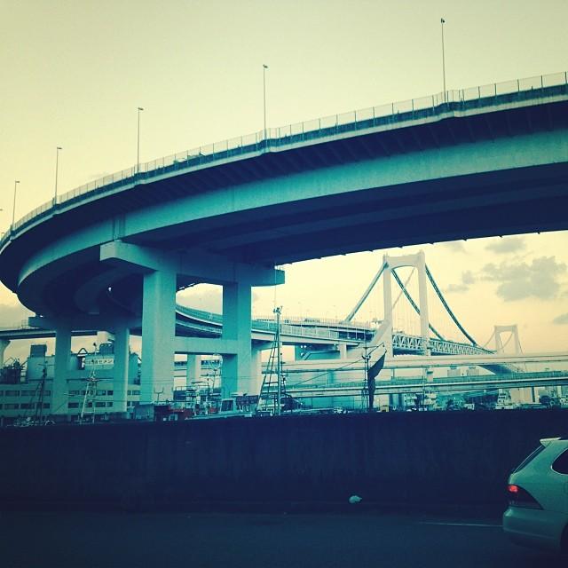 Rainbow bridge #Tokyo