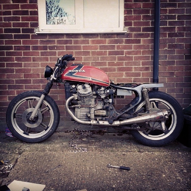 Shes coming along. #cx500