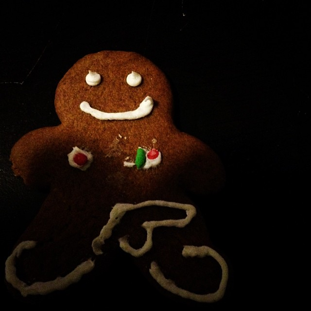 Gingerbread dreams with @lianagrasso