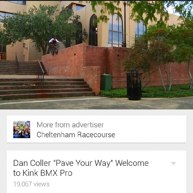 Dont forget to check out @notsolildan welcome to @kinkbikes pro edit that just dropped. Hammer time