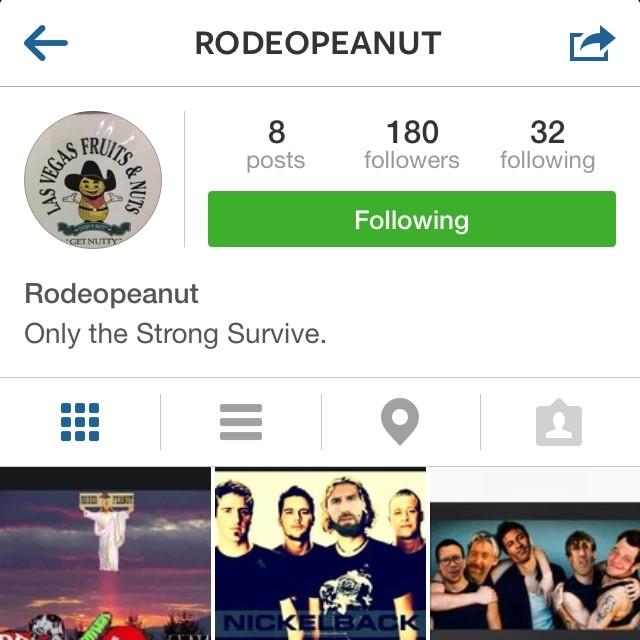You should go follow @rodeopeanut @rodeopeanut @rodeopeanut @rodeopeanut