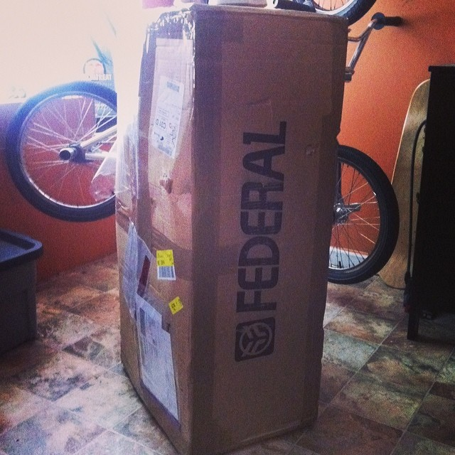 Damn happy early Christmas to me. Thanks so much @federalbikes
