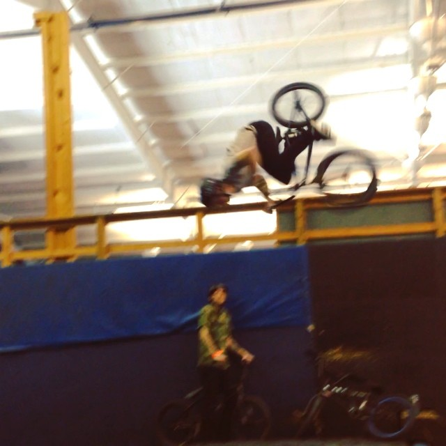 Did my first real backflip today!!!