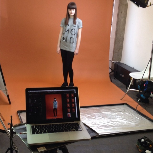 Fresh #apparel being shot today