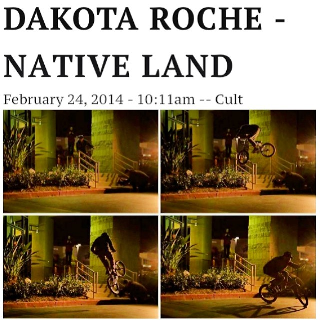Just incase you haven't watched this 20 times. @dakroche goes hard! #cultshit #Natives #Izpulidophoto