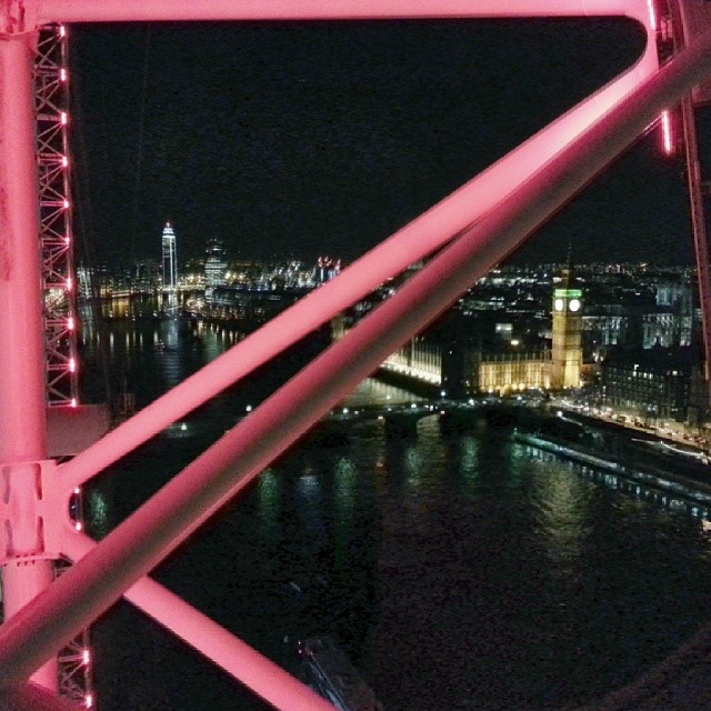 London eye with @discomead