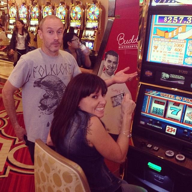 Look who I found in Vegas! @mulligan4130 @punkndatrunk