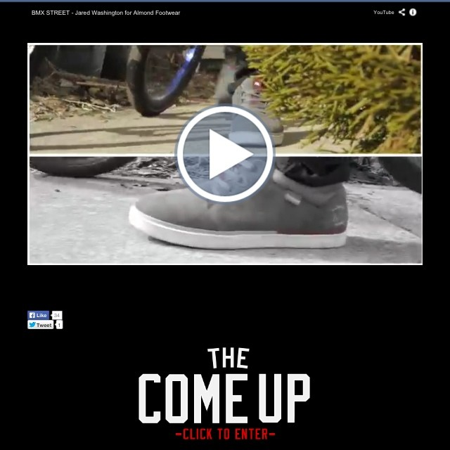 My edit is up on the main page of @thecomeupbmx go check it out thecomeup.com