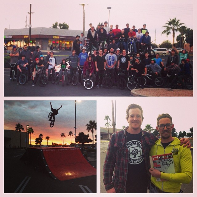Thanks to everyone that came out for the shop stop tonight! @fitbikeco