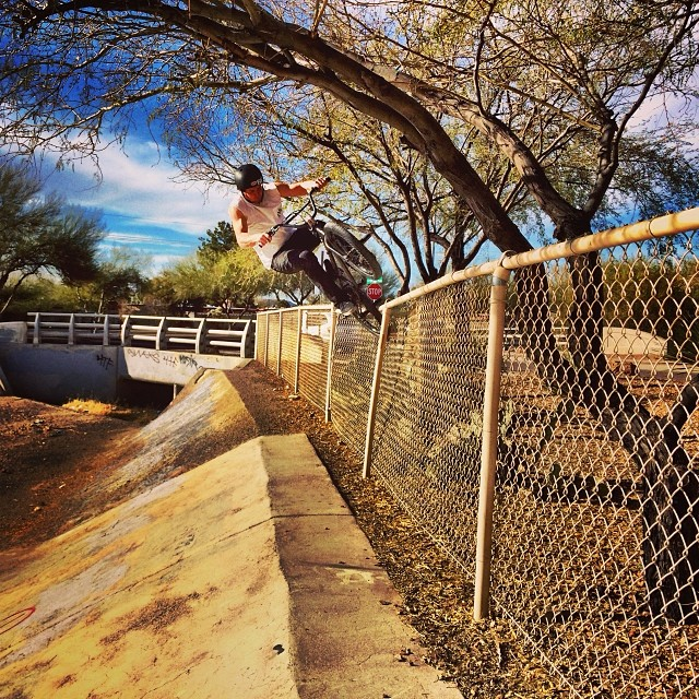 We ditched the flat ledge session today. Photo: @danconway