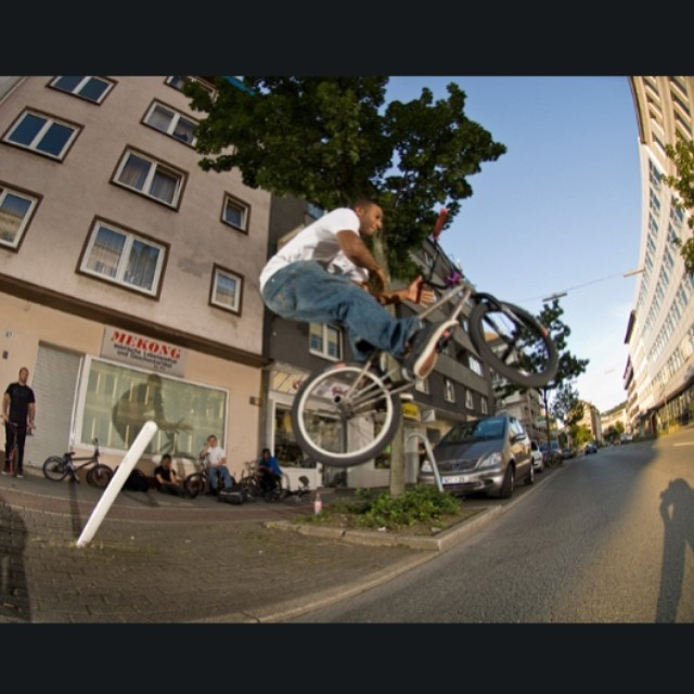 #tbt pole jam to bars in Germany in 2007 with @federalbikes