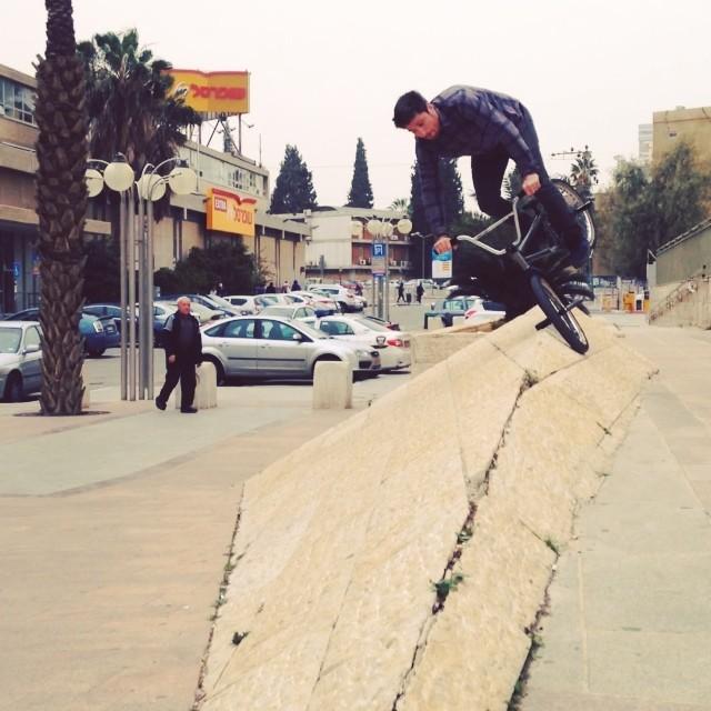 Conall Keenan in Israel