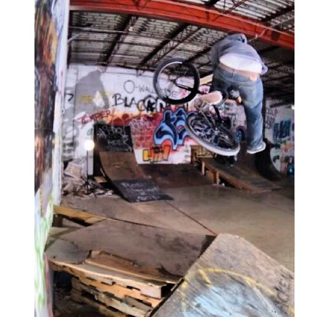 Found this photo of myself from the old @animalbikes warehouse
