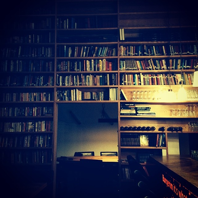 Library bar in Haifa Israel