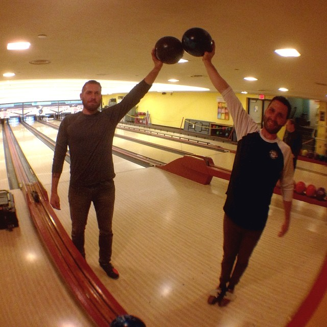 @almond_footwear edit in the works, rainy day bowling break with @gannwear @ryanscottphoto