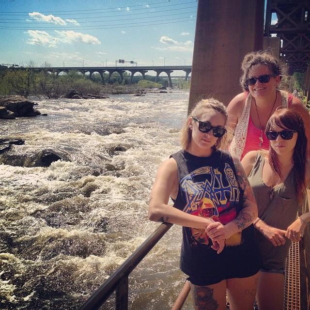 Afternoon adventures with the ladies. @kvn_bcn @weemsvillain @girlsnogood