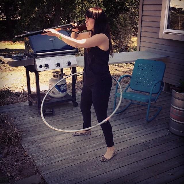 Hula hoop sharp shooter, @girlsnogood helping me out with an @almond_footwear edit last week.