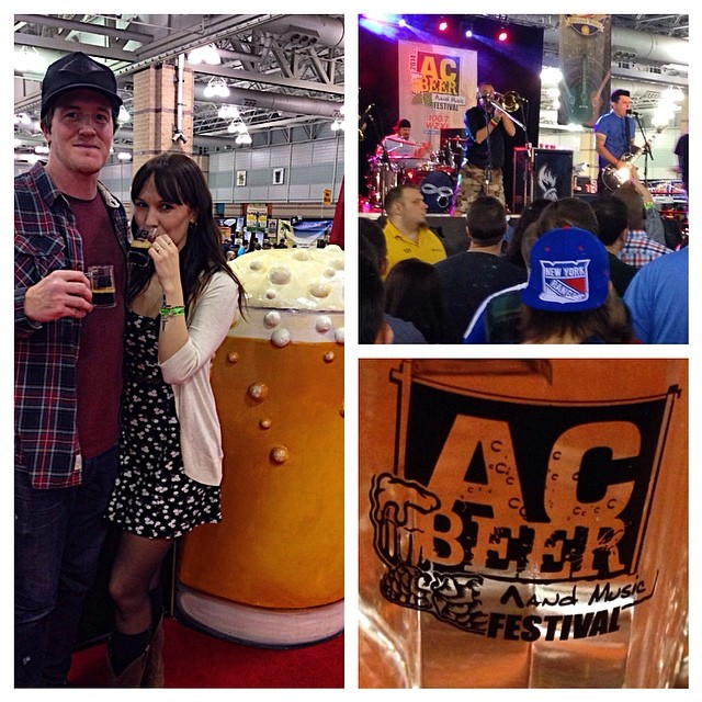 Last night was fun, Less Than Jake at the Atlantic City Beer and Music Festival.
