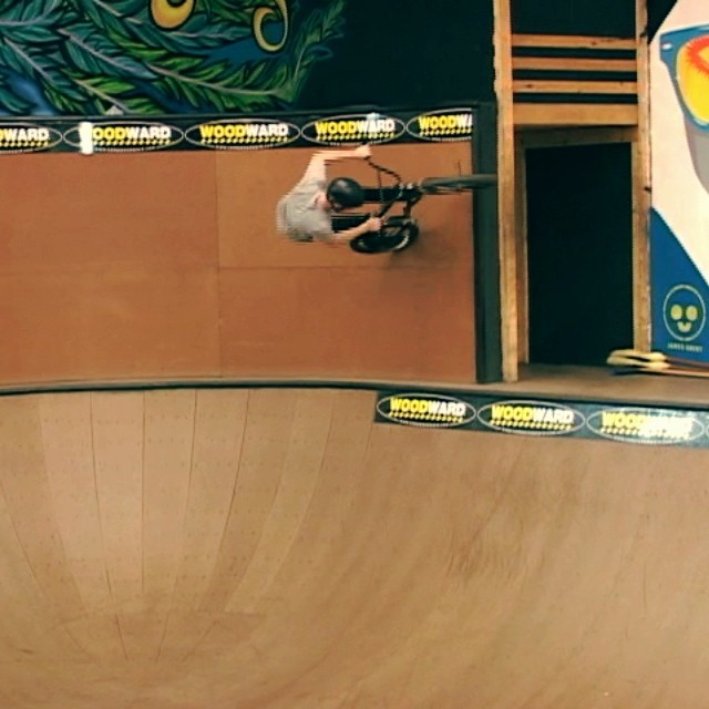 Little Woodward action from the winter @animalbikes @scott_gallo