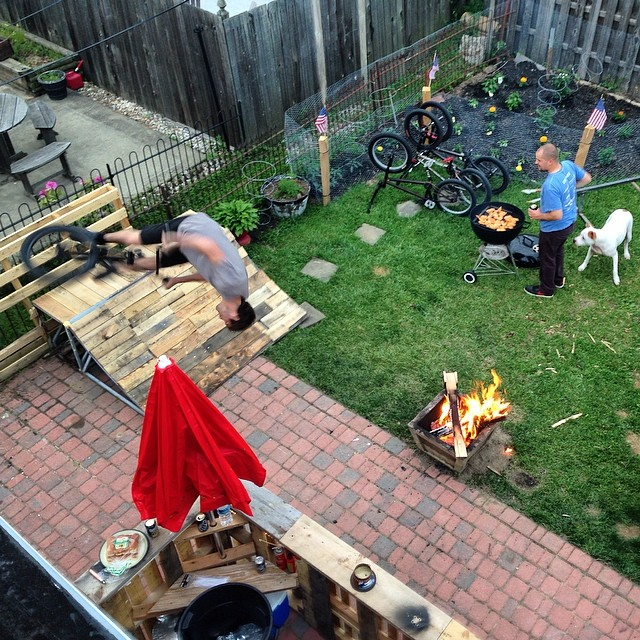 Backyard BBQ Flairs @rad_house