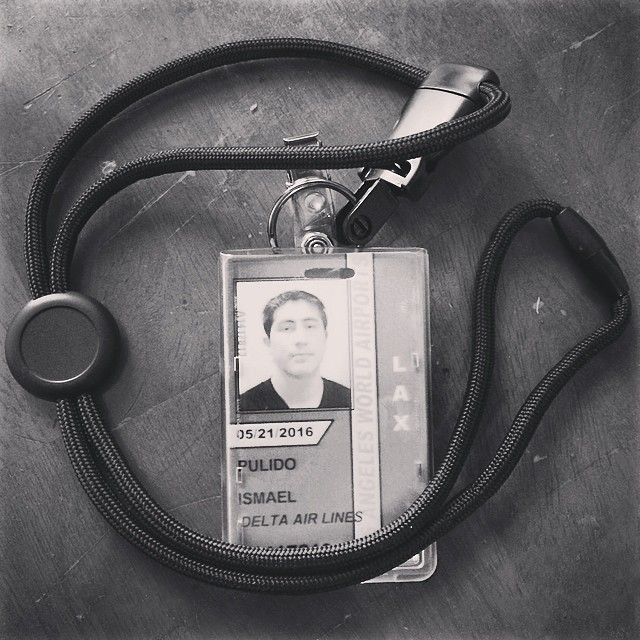 It's official!  #psyched #workinman #thankful