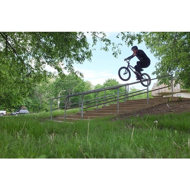 Out putting some clips together for a @gsportbmx peg promo. Photo: @ryanscottphoto