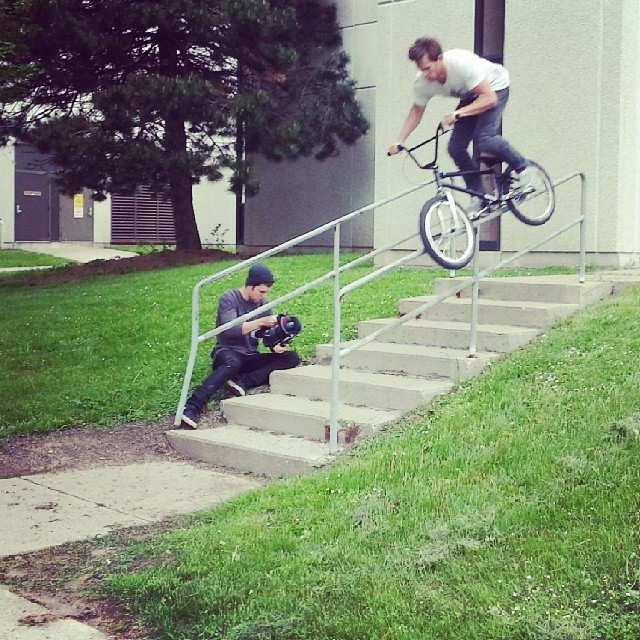 Philly d show today, the guys a viking, follow this beast @phildemattia @kinkbikes