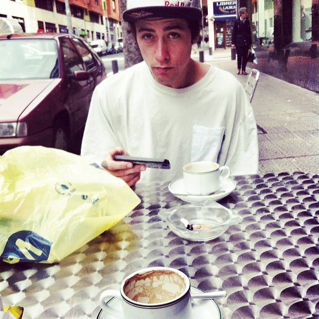 coffee with a gay guy @krisskyle