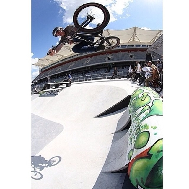 Good times judging X-Games and hanging out in Austin this week! Thanks to all the people that make my dream job possible! @fitbikeco @bellbikehelmets @danscompinstagram @duobrand @gsportbmx @almond_footwear @condorbmx