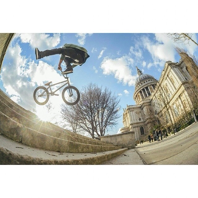 Ya man @lloydkink with a bumper whip in London Town.  photo by @hadrianpicard