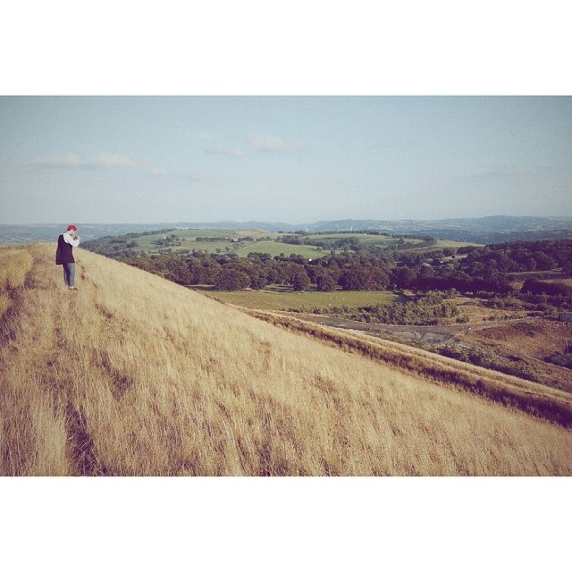 @brocafloka taking in the welsh countryside. #rtg2014