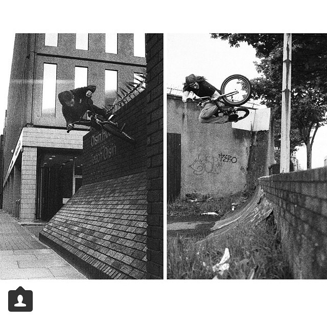 @mrrushmore and myself have some photos up in the IRELAND gallery over on the @united_bmx website. If you have a minute go check it out. Thanks