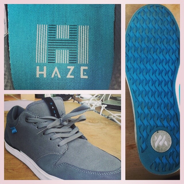 Out of the box and on to your feet. The Haze Low is one of our personal favorites. #shoeporn