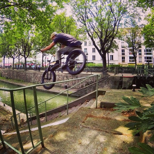 Paris. @united_bmx #unitedparis  @christianrigal