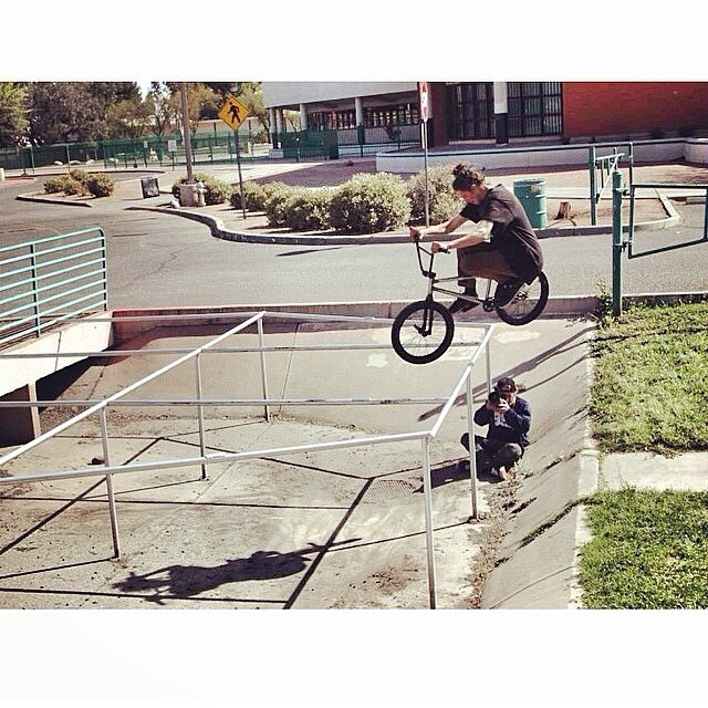 Spotted @bsdbg over at @bsdforever sick en! photo @thebridgebmx