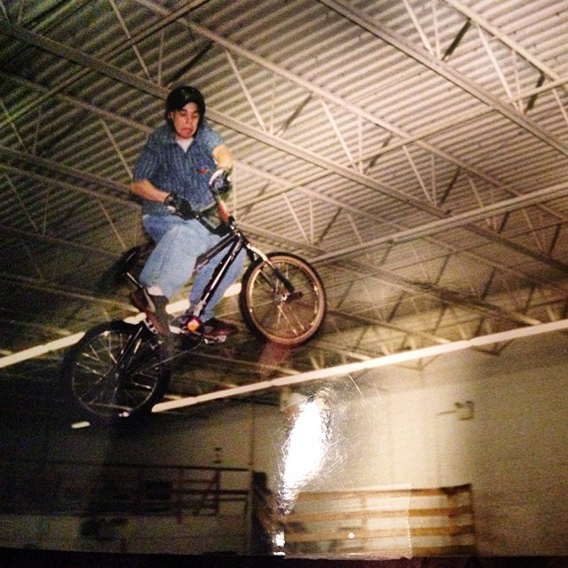 Just dug this one out of an old shoe box, @angryseth Ivy Land Skatepark around 95' #RIP