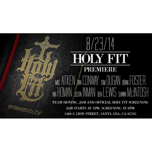 See you Saturday  #holy_fit @fitbikeco