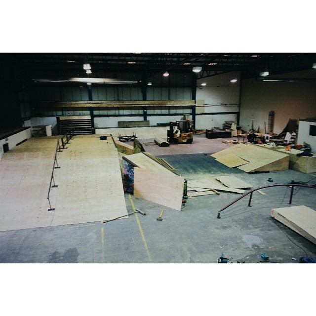 Building skateparks is fun.