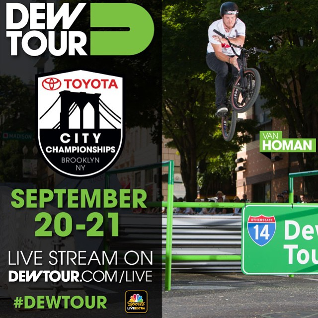 Can't believe this is only 10 days away already  #dewtour #notajudge