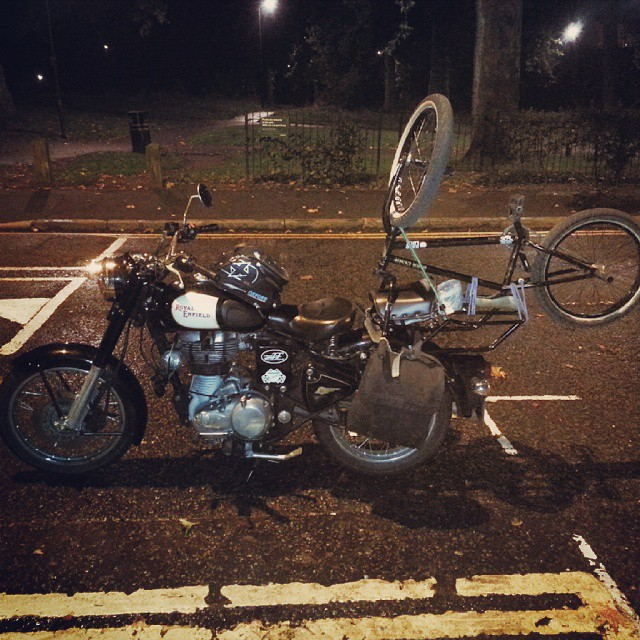 Drove down to Brighton last night to startv #brightonaintready with @kinkbikes @nothingisrad @benbasford87 @albertmercato @tonyhamlin @seventiesdistro