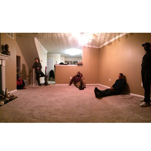@fredo_rp @golluplife and Asmar talking with my parents haha . If you know these people this is funny