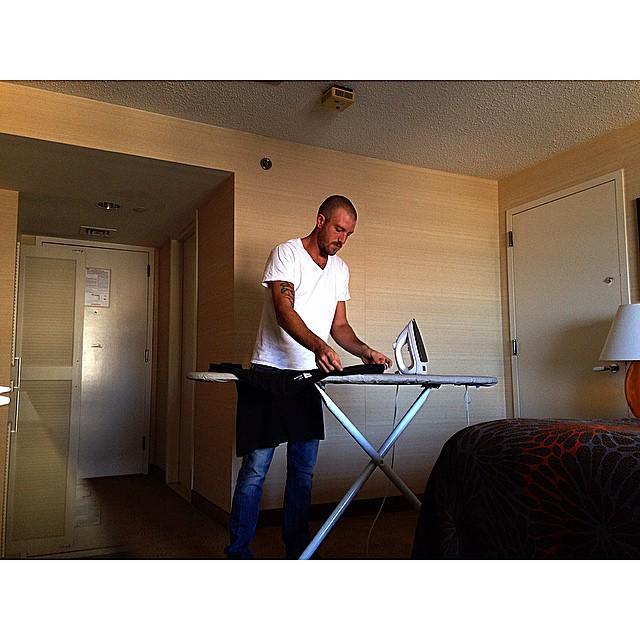 @zachpitoniak ironed my shirt for me