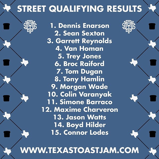 Beyond stoked on how today went! Can't wait for finals tomorrow! #texastoast2014 @fitbikeco @bellbikehelmets @danscompinstagram @almond_footwear @gsportbmx @duobrand